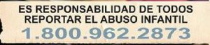 Child Abuse Hotline - Spanish, 800-962-2873