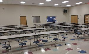 Bishop McLaughlin Catholic High School Dining Hall