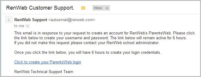 RenWeb Customer Support
